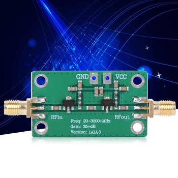 DC 3 3-6V wzmacniacz fal RF moduł radiowy niski poziom hałasu 35dB wzmocnienie 20-3000MHz dla Bluetooth WIFI wzmacniacz częstotliwości niski poziom hałasu tanie i dobre opinie VBESTLIFE Elektryczne Other 9X6X1 Stand RF Amplifier 35dB Gain +20dBm (100mW) at 1dB compression point 150mA 50Ω Meanwhile typical gain is 35dB