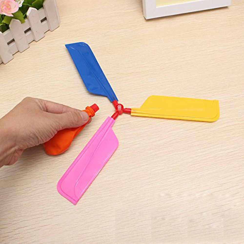 חדש בלון מסוק מעופף צעצוע ילד יום הולדת חג המולד מסיבת תיק גרב מילוי מתנה חיצוני משחק ילדים בלון סט אבזרים