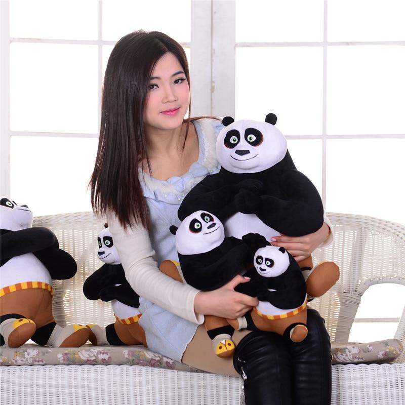 Movie Kung Fu Panda Toys Plush Doll Kungfu Panda Stuffed Dolls Toy Anime Animals Collectible  For Children Kids Birthday Gifts