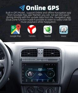 Image 5 - Radio Estéreo con GPS para coche, Radio con navegador, Android 8,1, Bluetooth, wifi, Universal, 7 pulgadas, 2din, 2,5d, IPS, Quad Core, Multimedia