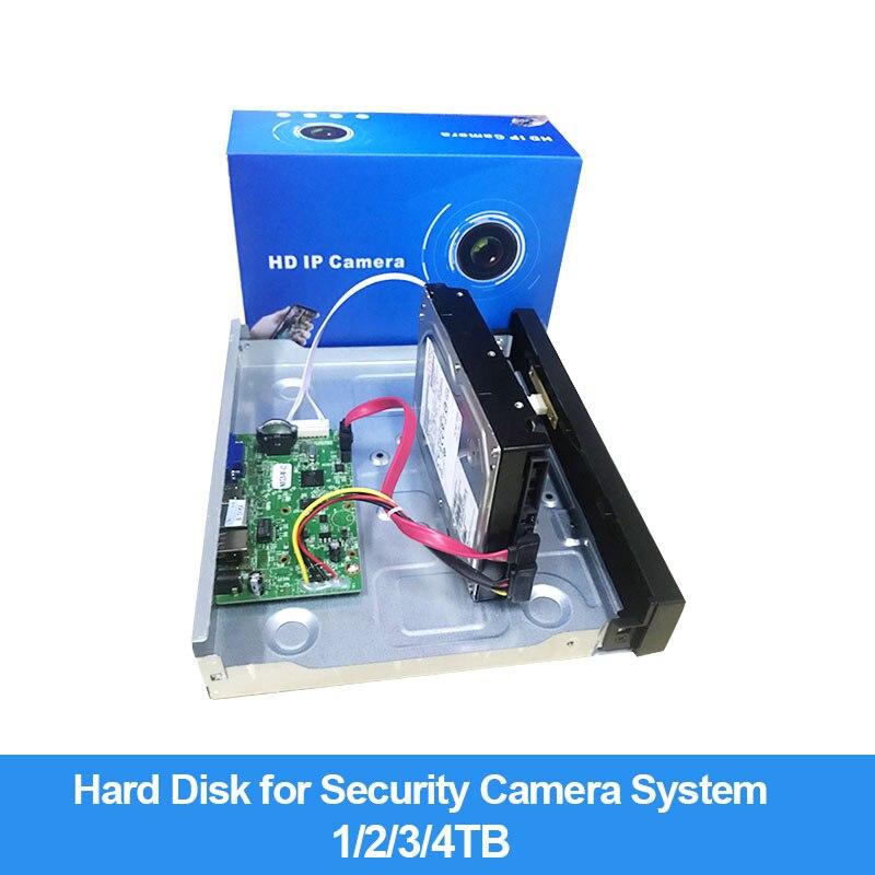 3.5 Inch HDD Internal Hard Disk 7200rpm Sata3 1TB 3TB  For CCTV KIT Video Surveillance System DVR NVR Video Record HD 1T 3T Disc