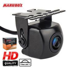 MARUBOX tylna kamera samochodowa prawdziwa 190 stopni uniwersalna noktowizyjna tylna kamera samochodowa Backup kamera parkowania wodoodporna IP68