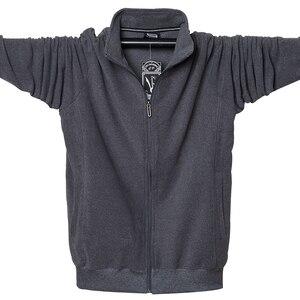 Image 3 - 2020 Men Big Tall Long Sleeves Sweatshirts Oversized Hoodies Cotton Male Large Man Clothing Autumn Fit Hoodie Plus Size 5XL 6XL