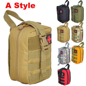 Molle Tactical First Aid Kits Medical Bag Emergency Outdoor Army Hunting Car Emergency Camping Survival Tool Military EDC Pouch 6