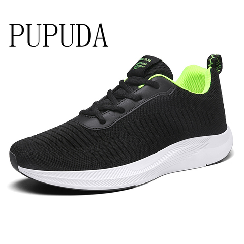 PUPUDA sneakers men autumn new comfortable couple casual running shoes trend fashion big size 12  classic loafers sport shoes Pakistan