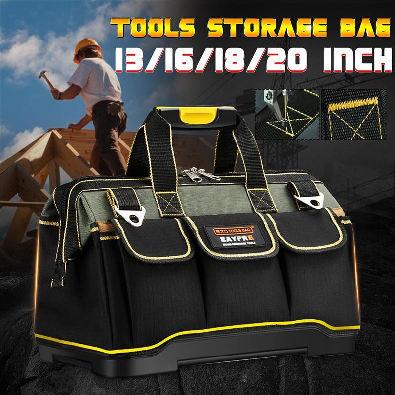 13 16 18 20 Inch Waterproof Tools Storage Bag Tool Bag Electrician Tools Carpentry Repair Portable Storage Organizers Box