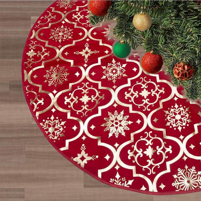 Tree Skirts Creative Christmas Decoration New Year Home Outdoor Decor Event Party Tree Skirts For New Year Carpet Decorations 2