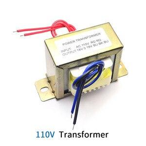 Image 2 - محول تيار متردد أحادي 18 فولت 50 وات مدخل محول التيار المتناوب 110 فولت 220 فولت مخرج مزدوج AC18V محول إمداد بالطاقة للوحة مكبر الصوت أو النغمة
