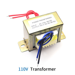 Image 2 - Unisian Ac Dual 18V 50W Transformator Input Ac 110V 220V Output Dubbele AC18V Voeding Transformator voor Amplifer Of Tone Board