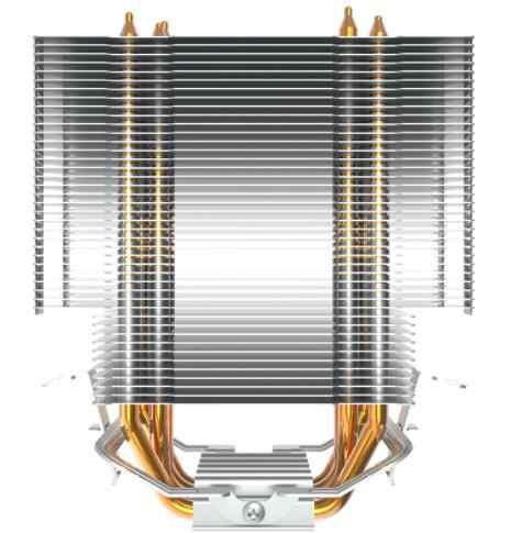 Aigo E4 PC CPU Cooling Fan Cooler 4 Heatpipes CPU Cooler Fan Radiator Aluminium Heatsink CPU Cooler untuk LGA775/1155/1156/1366/AMD