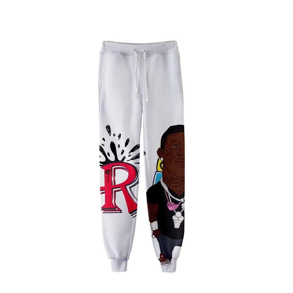 2019 Mane Radric Pants Men Hip Hop Pants Trousers Kpop Fashion Casual High Quality Casual Warm Slim Mane Radric Pants Streetwear