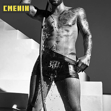 Underwear Men Sexy Boxer Quick-Dry Man's Cotton Homme