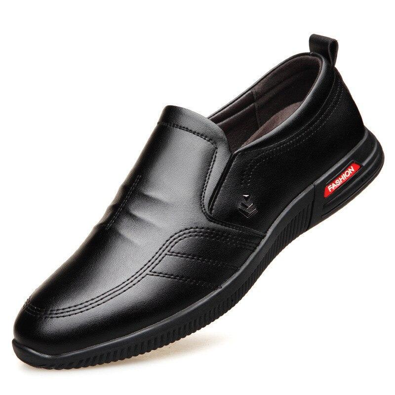 Новинка, лидер продаж, новая мужская повседневная обувь, модная мужская обувь, мужские лоферы из натуральной кожи, Мокасины, мужские слипоны на плоской подошве, Мужская обувь для вождения|Повседневная обувь|   | АлиЭкспресс