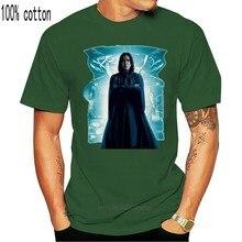 T-shirt manches courtes, respirant, bleu, de styliste, Alan Rickman Severus Snape, été