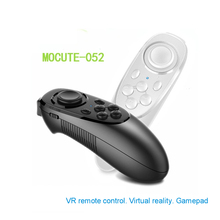 Wireless Bluetooth 052 VR Joystick Gamepad Remote Controller For Android iOS Phone PC TV Box 3D VR Virtual Reality Glasses lefant g6 wireless bluetooth gamepad joystick controller for android smartphone tablet vr pc tv box ps3
