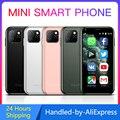 SOYES XS11 Super Mini Смартфон на Android 6,0, четыре ядра, экран 2,5 дюйма, 1 Гб + 8 Гб