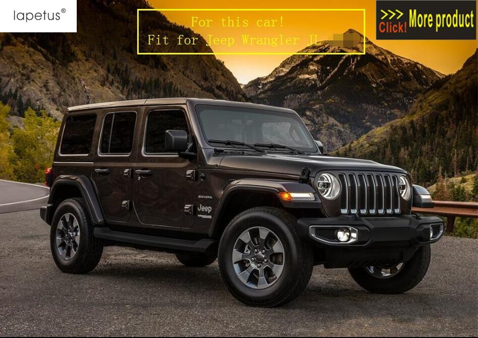Lapetus acessórios para jeep wrangler jl 2018