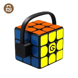 Image 1 - [Обновленная версия] Оригинальный Интеллектуальный супер куб Giiker i3s AI умный волшебный Магнитный Bluetooth приложение синхронизация головоломки игрушки