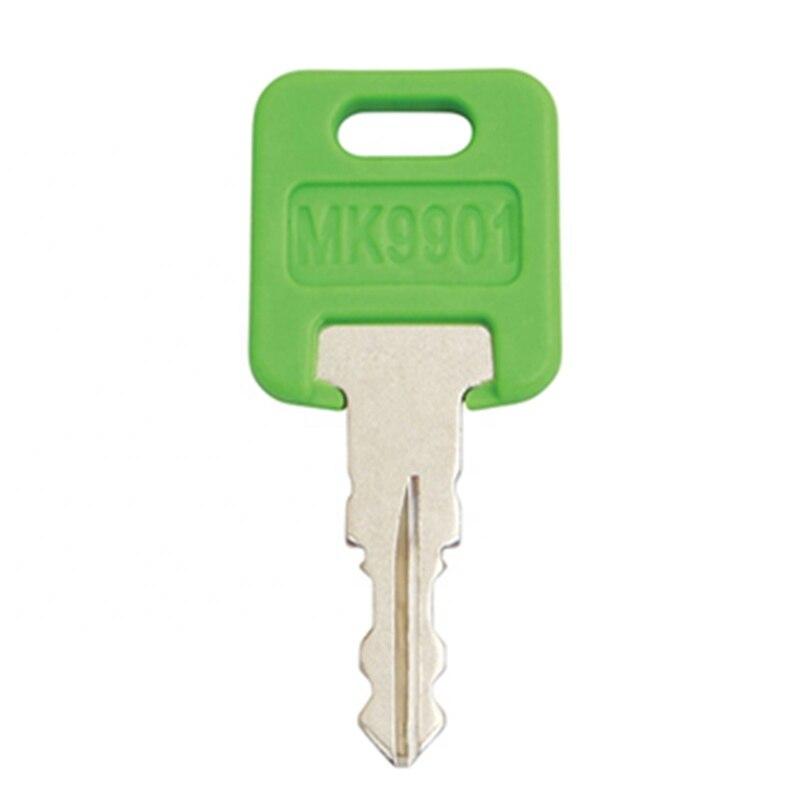 1 шт. MK9901 подходит для FIC code 9901- M / 6601 новый стиль Rv-Motorhome-Master Green RV ключ