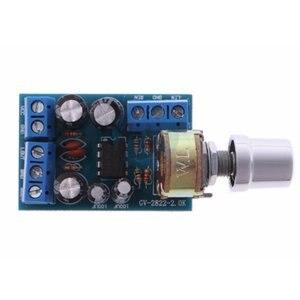 Small Size DC 1.8-12V TDA2822M 2.0 Channel Stereo Mini AUX Audio Amplifier Board Module AMP Module Parts