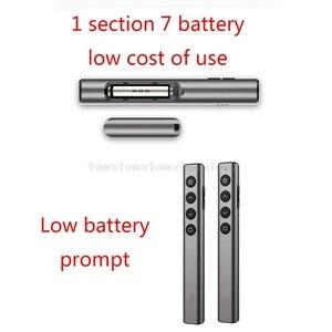 Image 2 - N35 Wireless Presenter Pointer RF 2.4GHz USB Remote Control PPT Slide Flip Pen D10 19 Dropship