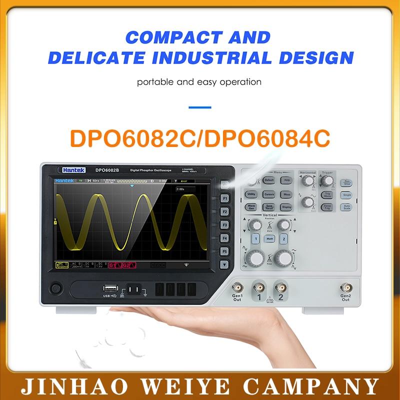 Осциллограф Hantek DPO6082C цифровой осциллограф usb 80 МГц 1GSa/s ociloscopio automotivo hantek DPO6084C|Осциллографы|   | АлиЭкспресс
