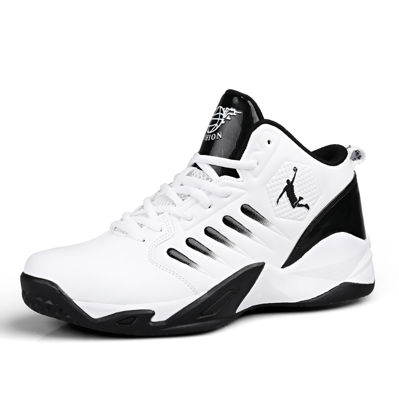 BONJEAN High-top Jordan Basketball Sneakers Breathable Sports Fitness Shoes Brand Professional Cushioning Basketball Sneakers