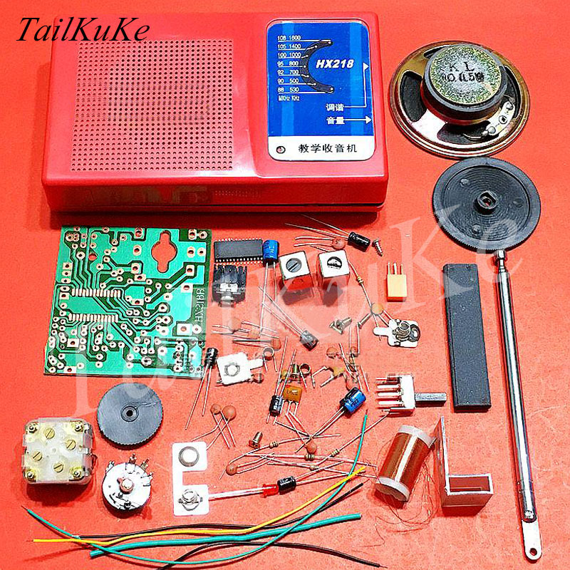 FM radio electronic parts DIY kit kit production assembly components of teaching and trainingcomponent electroniccomponent kitcomponents radio -