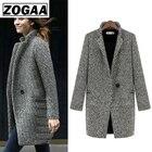 Fashion Long Woolen ...