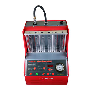 Image 5 - Launch CNC602A Car Fuel Injector Cleaning Machine Ultrasonic FUEL Injector Cleaner Tester Washing Tool 6 Cylinder DHL for Atuo