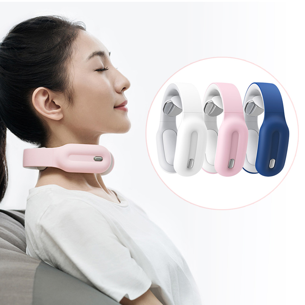 Neck and Shoulder Massager Smart massage Hot compress Pain Relief Tool Health Care Relaxation Cervical Vertebra Physiotherapy(China)