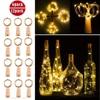 12pcs 2M 20LED String Light Cork Wine Bottle Light LED Lights Decoration For Bedroom Christmas Birthday Party Fairy String Lamp review