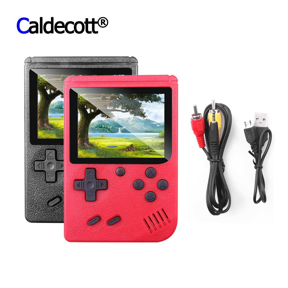 TFT LCD Screen 8 Bit Built In 400 In 1 Handheld Game Players Console Portbale Retro Game Box 3.0 Inch TV AV OUT Child BOY Gift(China)
