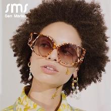 2020 Vintage Sunglasses Women Fashion Steampunk Sun Glasses Men Luxulry Brand Female Eyewear Unique Marble Frame Okulary Gafas
