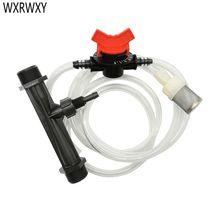 Venturi gübreleme sistemi 3/4 1/2 Sulama Venturi Otomatik gübre enjektörü Gübre Şırınga 1 takım