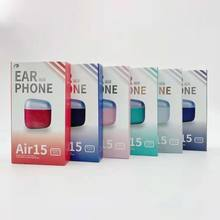 1 pces ar 15 h1 chip renomear fone de ouvido ar 2nd carregamento sem fio bluetooth gps posicionamento com número de série válido