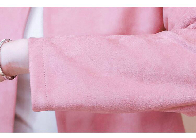 Jackets for Women Long Sleeve Jacket Women Beading O-Neck Woman Jacket 3XL 4XL  Cardigan Short Jacket Coat Women D107 6
