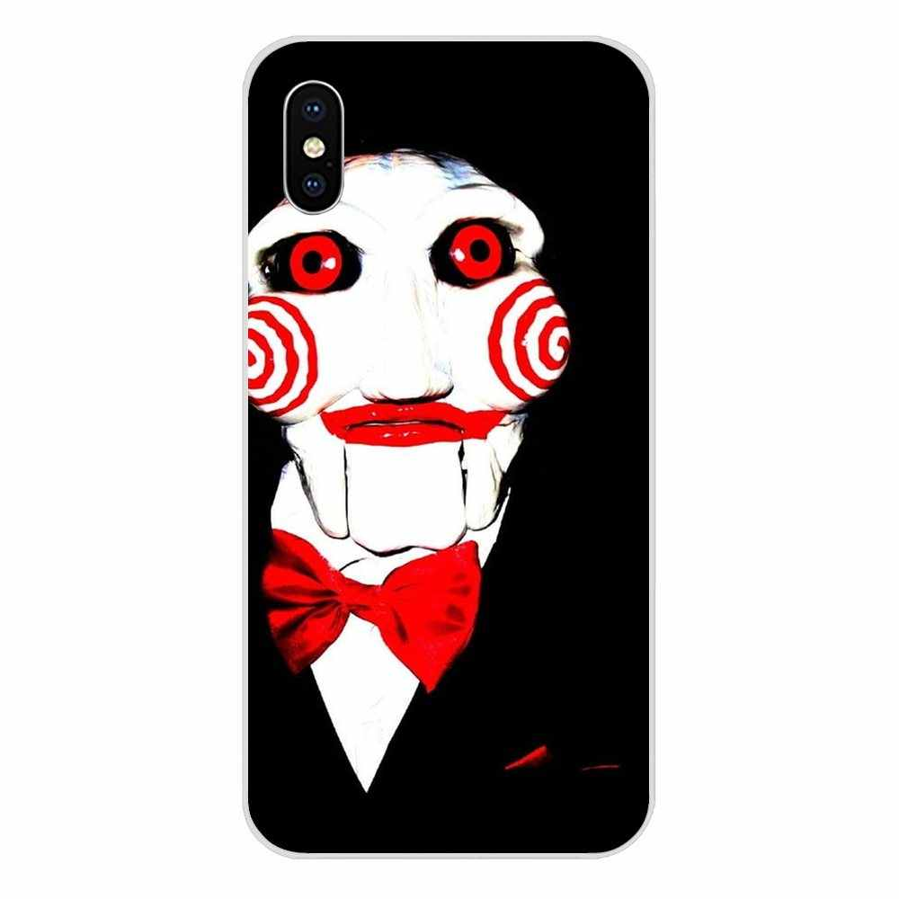 Horror Saw Mask Man Terrible For LG G2 G3 G4 G5 G6 G7 K4 K7 K8 K10 K12 K40 Mini Plus Stylus ThinQ 2016 2017 2018 TPU Cell Case