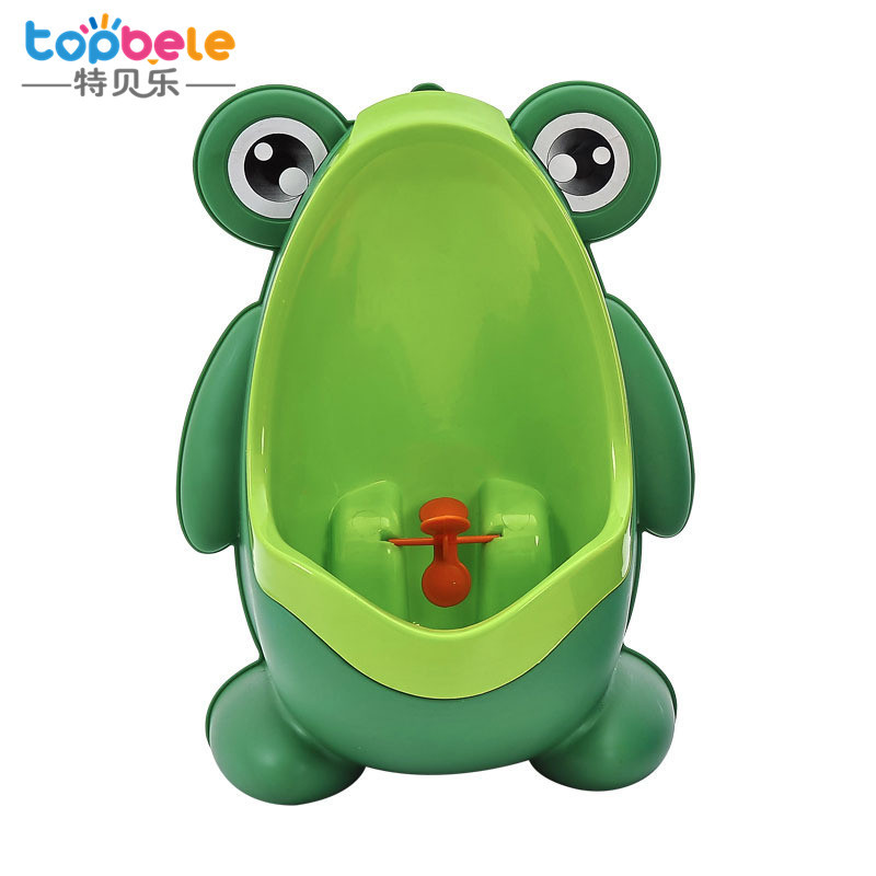 Topbele Stand-up Children Frog Urinal Wall Mounted Male Baby Urine Cup Kids Urinal Pedestal Pan