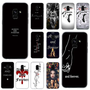 EWAU Always and Forever Hard phone cover case for Samsung Galaxy A2 Core A6 7 8 9 2018 A10S 20S 20E 30S 40S 50S 60 70S