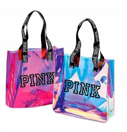2019 nouveau 2 couleur Sequin rose fille sacs voyage sac polochon femmes plage sac à bandoulière grande capacité sacs voyage affaires sacs à main