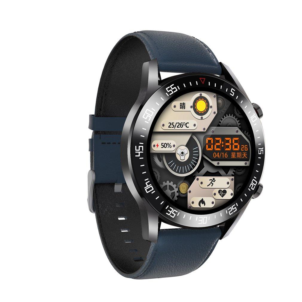 H256643aa57de490784f016858686f70bs C2 Smart Watch Round Dial Men Smartwatch Full Touch Screen Heart Rate Monitoring IP68 Waterproof Fitness Sports Watch