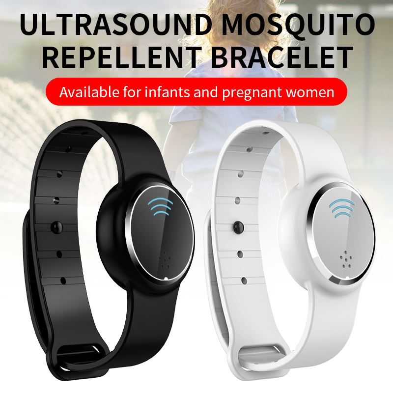 Ultrasonic Pest Insect Drive Wristband Watch Repellents Mosquito Repellent Bracelet Adult Kids Anti Mosquito Killer Garden Home