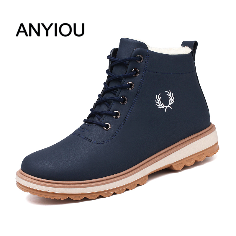 ANYIOU Rain Boots For Men Chelsea Boots For Men Ankle Boots Men Casual Boots Rubber Man Waterproof Rain Shoes Best Selling Style
