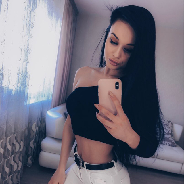 Off Shoulder Sexy Female Knitted Crop Top Women White Black Tops Streetwear Elastic Short T shirt Knitting Cropped Camis Tees Uncategorized Fashion & Designs Women's Fashion