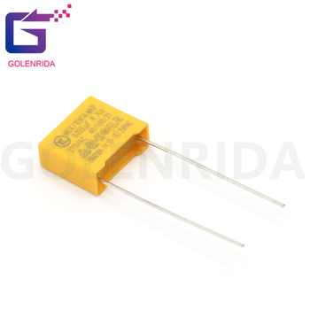 10pcs 33nF capacitor X2 capacitor 275VAC Pitch 10mm X2 275V Polypropylene film capacitor 0.033UF 333K image
