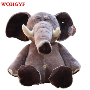 """Brand Jungle Brothers Plush Stuffed Toy Elephant Animals for Kid's Gifts,10"""" 25cm,1PC(China)"""