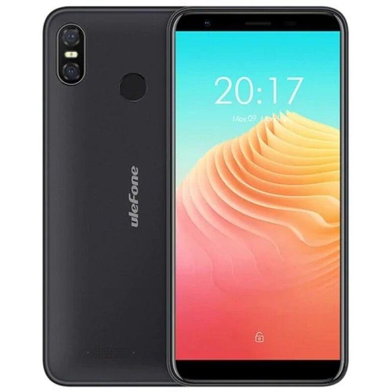 "Ulefone S9 PRO Bleck O2 SmartPhone 2GB RAM 16GB ROM 5.5"" Telephone MTK6739 Quad Core Android 8.1 8.0MP Fingerprint Mobile Phone"