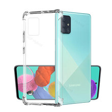 Transparent Anti-Scratch-Fall Für Samsung Galaxy A51 6.5