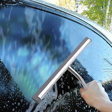 Brosses de voiture de fenêtre en verre d'acier inoxydable de hauts accessoires de voiture raclette pour des portes de douche brosse d'automobile en verre pour la salle de bains